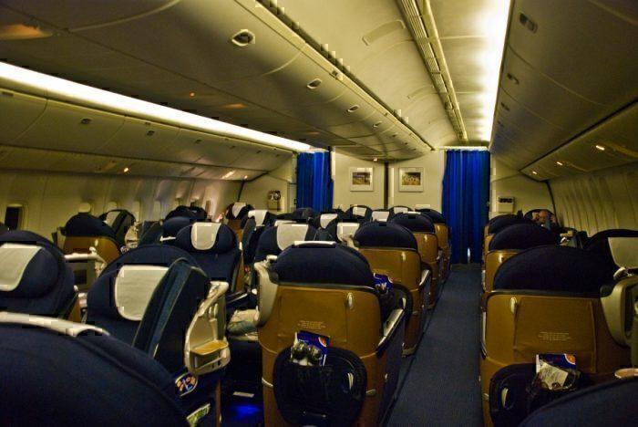 British Airways Club World
