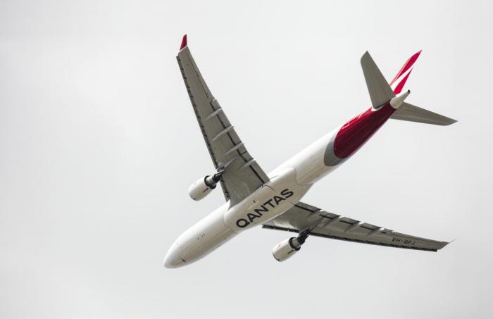 Qantas, Airportr, London Heathrow