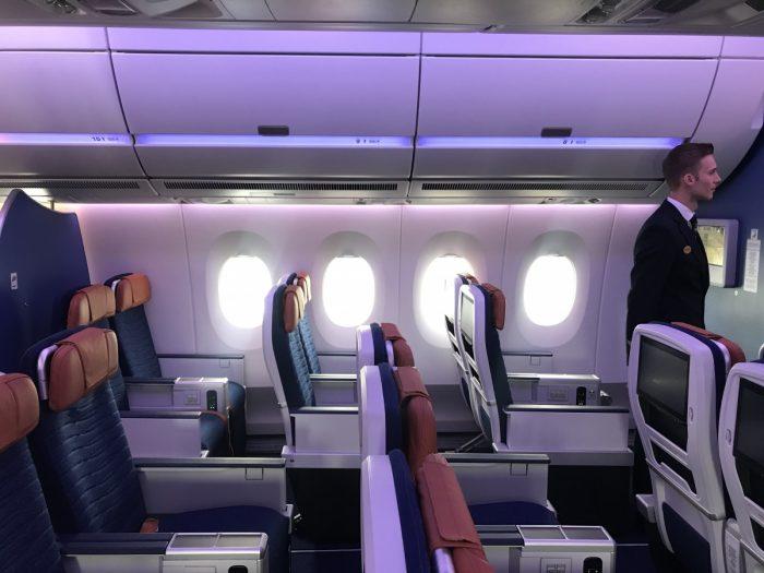 Aeroloft, Airbus A350, Cabin