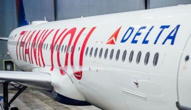 Delta Thank You A321
