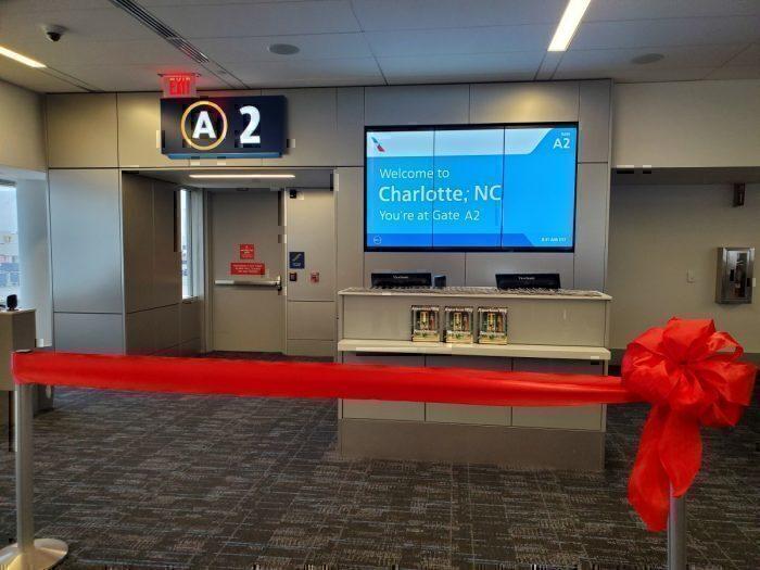New American gate Charlotte