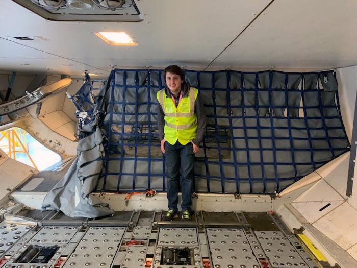 British Airways, Airbus A380, Cargo Hold