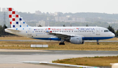 Croatia Airlines Airbus A319 lease