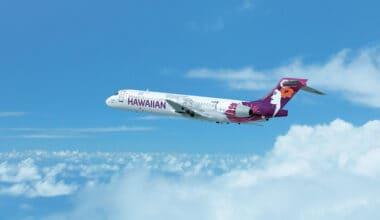 Hawaiian Airlines B717 Aircraft
