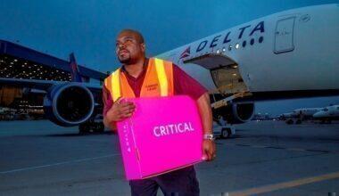 Delta Cargo DASH Critical