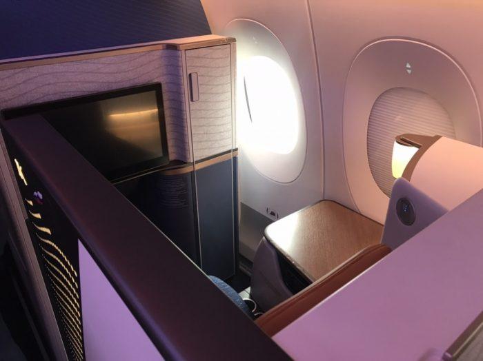Aeroflot Business Class Seat