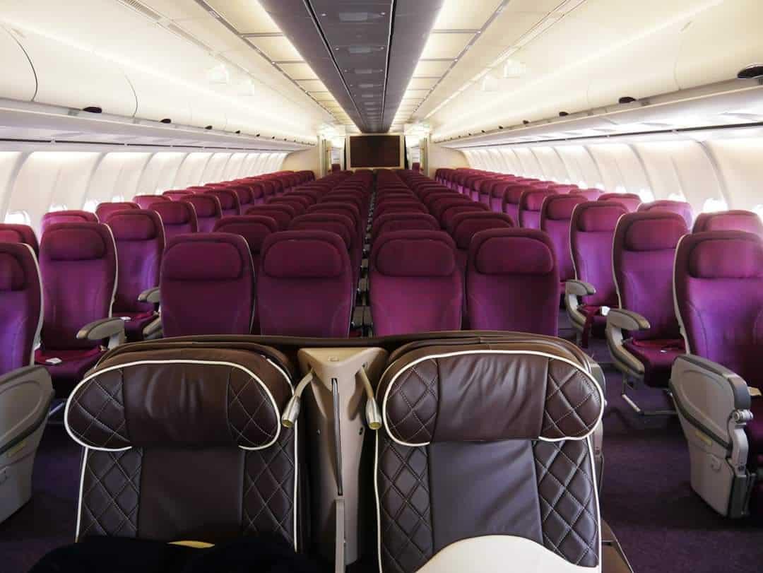 Azman Air, Airbus A340, Business Class