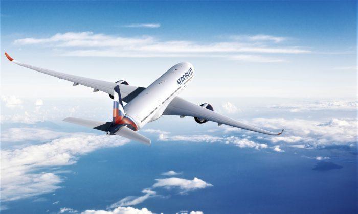 Aeroflot, Airbus A350, Singapore