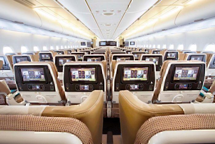 Economy Class on Etihad Airways