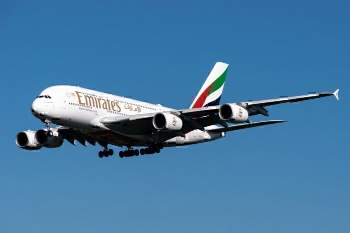 Emirates, Airbus A380 Manchester