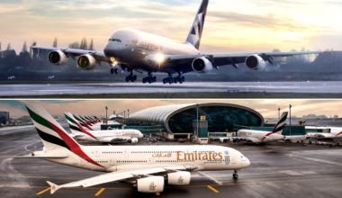 Emirates, Etihad, China