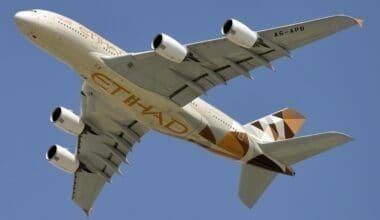 Etihad Airways Airbus A380-861