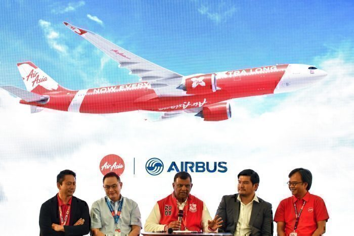 AirAsia X Airbus deal getty images