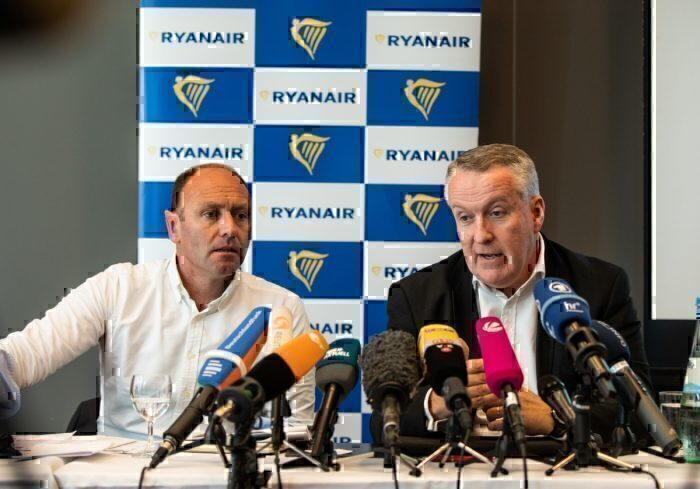 Ryanair, Kenny Jacobs, Resignation