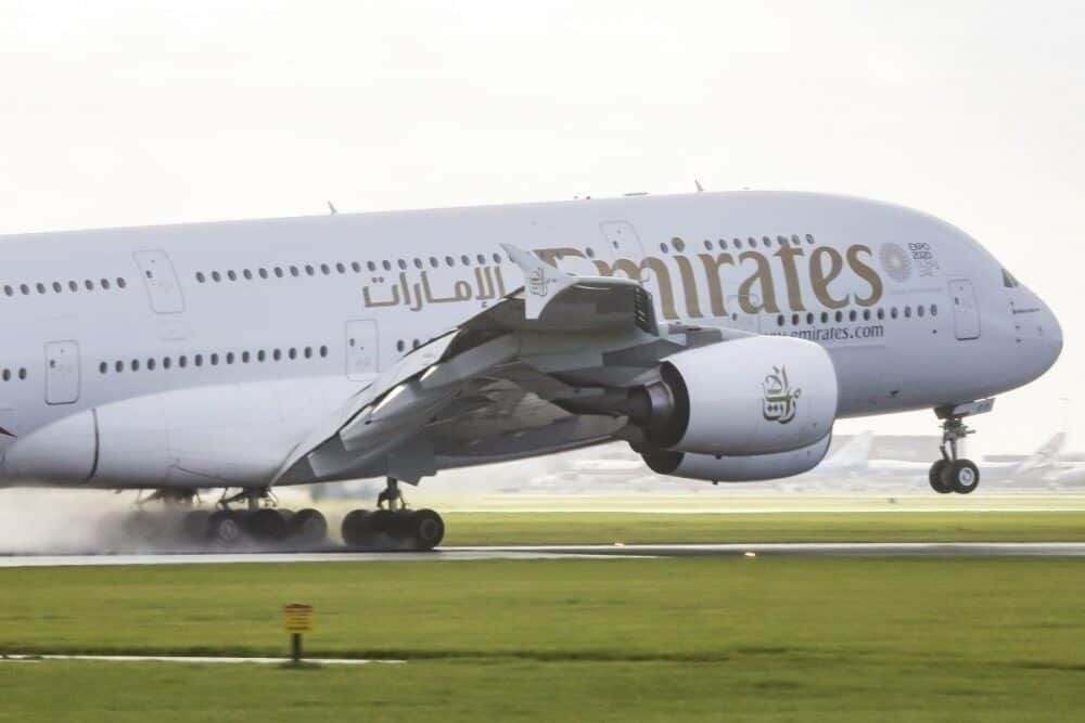 Emirates, Airbus A380, A380 Over