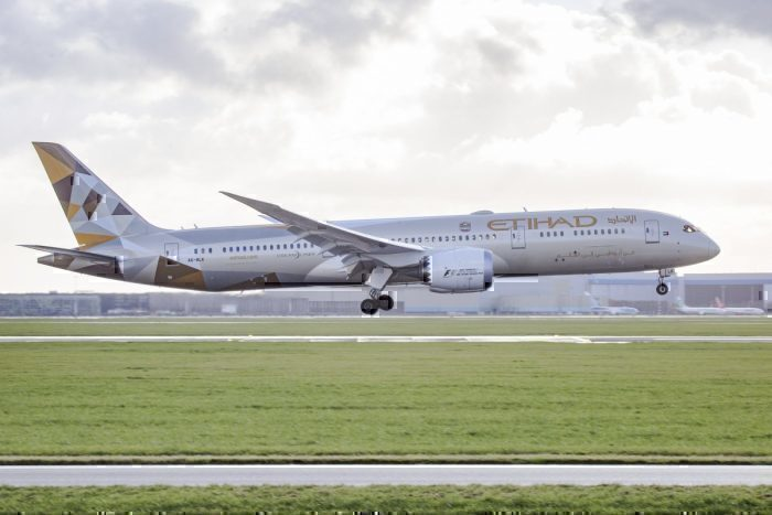 etihad plane getty images