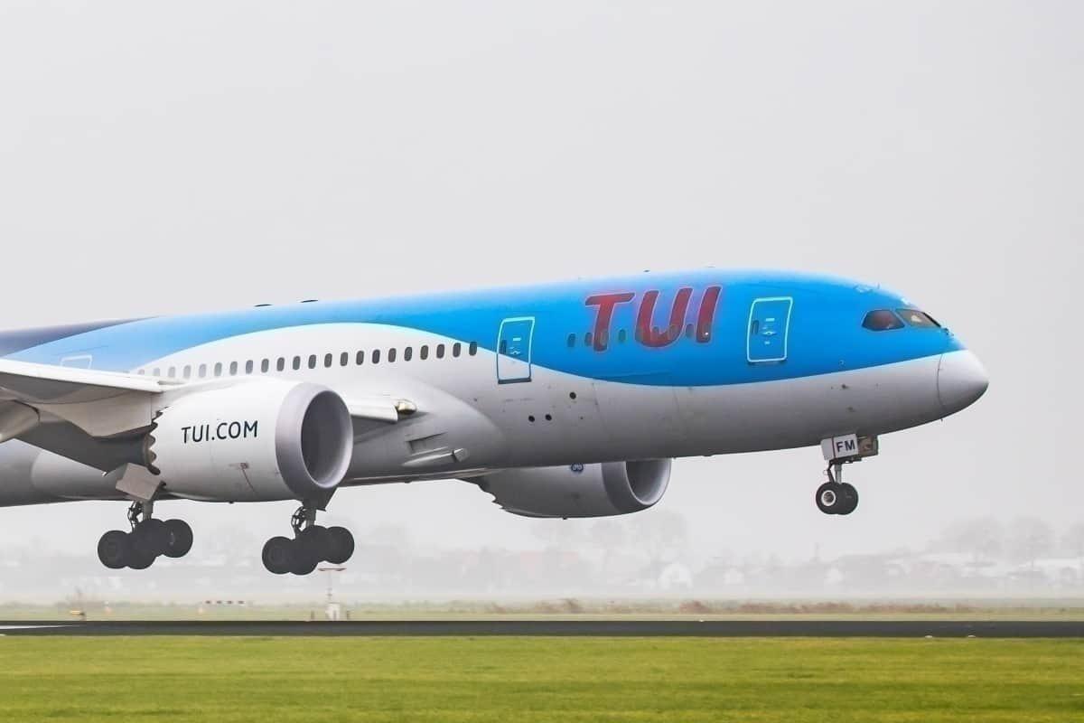 TUI, Boeing 787, Düsseldorf