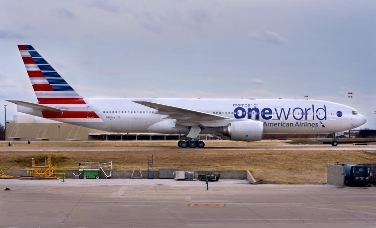 Getty American Airlines oneworld