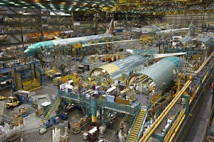 Boeing assembly plant, Everett