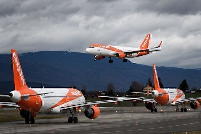 Easyjet carbon neutral getty images