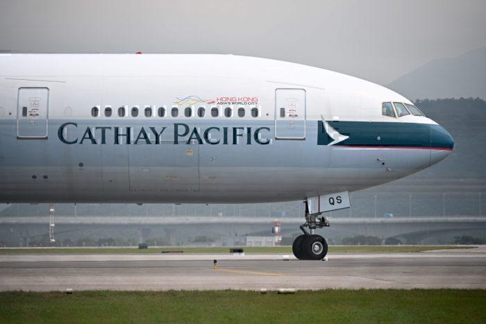 Cathay Pacific Getty Images