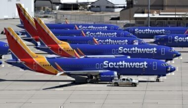Southwest boeing 737 max grounded getty images