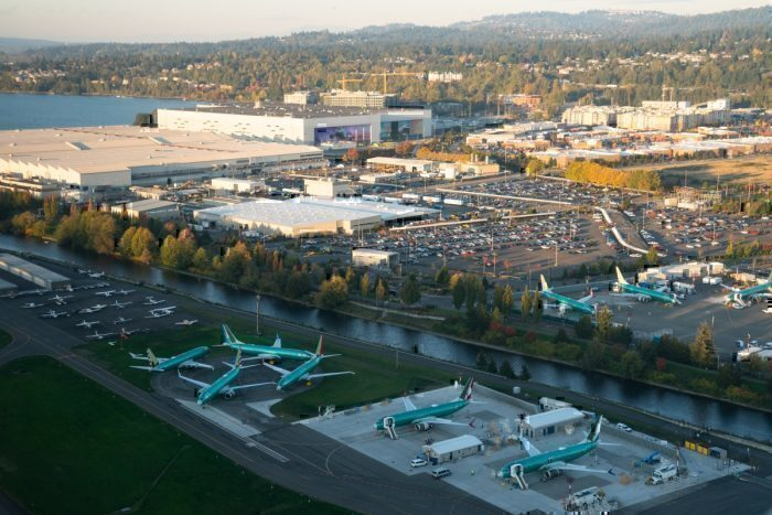 Boeing to suspend production at Washington facilities
