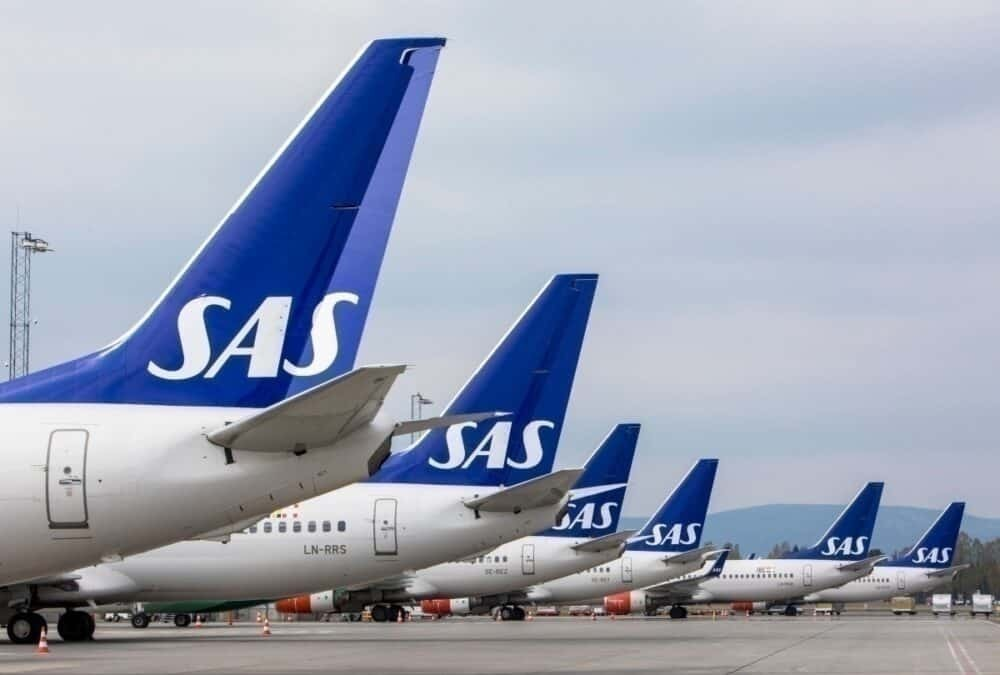 SAS airbus getty images