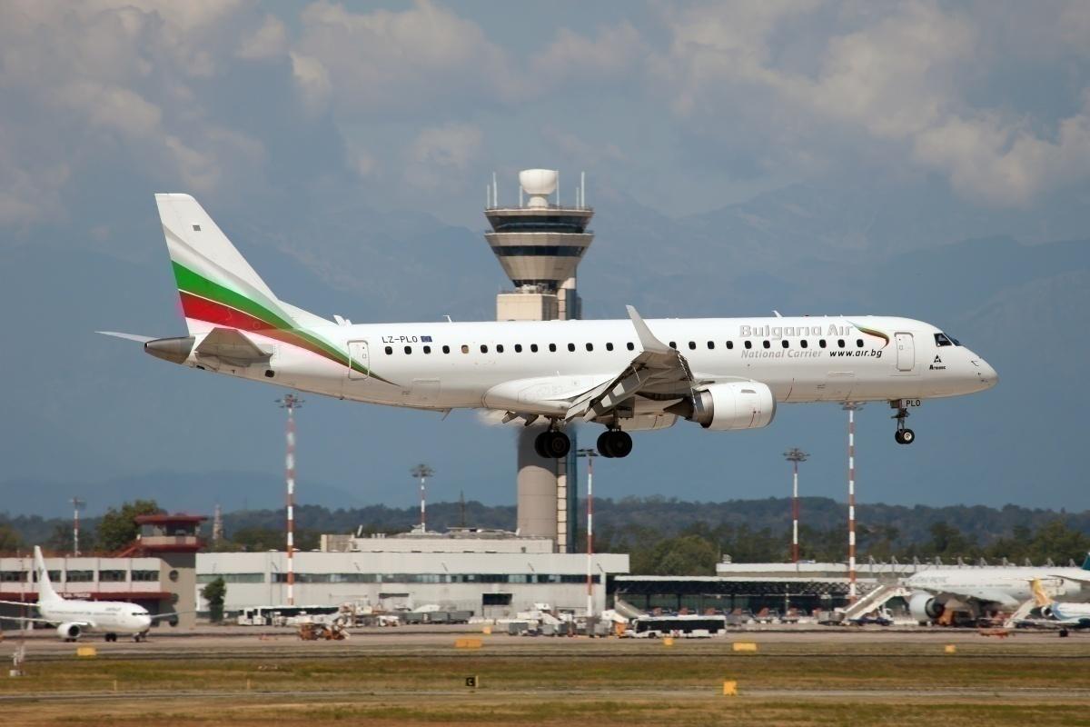 Bulgarian-Air-Embraer ERJ-190s