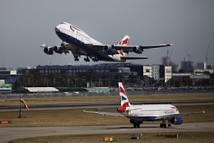 Heathrow British Airways BA