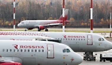 Rossiya Airlines A319s