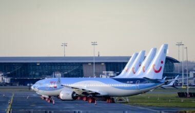 TUI boeing MAX Getty Images