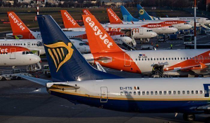 Coronavírus de companhias aéreas europeias