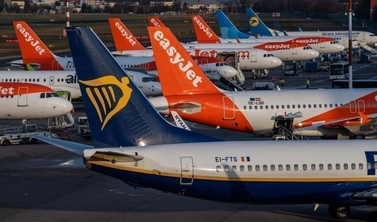 easyJet, with Ryanair and other EU airlines