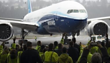 Boeing 777X Test Flight Getty Images
