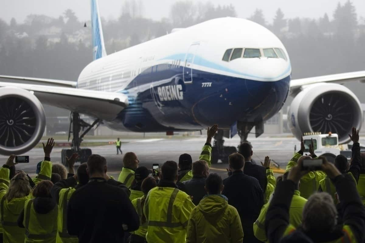 Boeing 777X Test Flight Getty Images