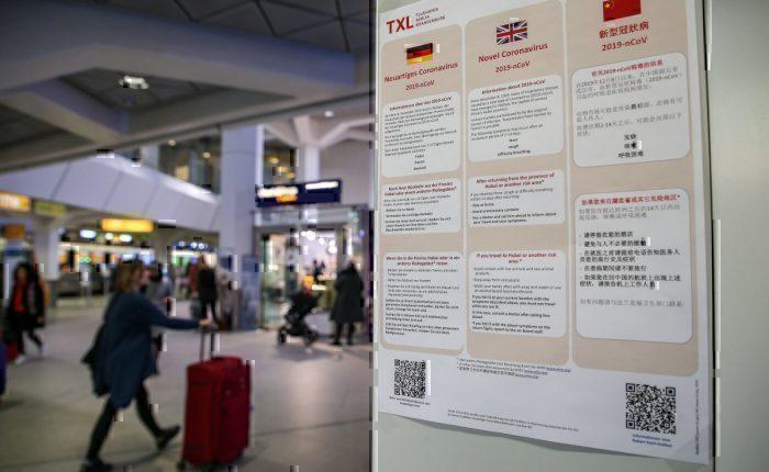 Coronavirus information airport