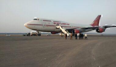 Air India Boeing 747-400 registration number VT-ESP