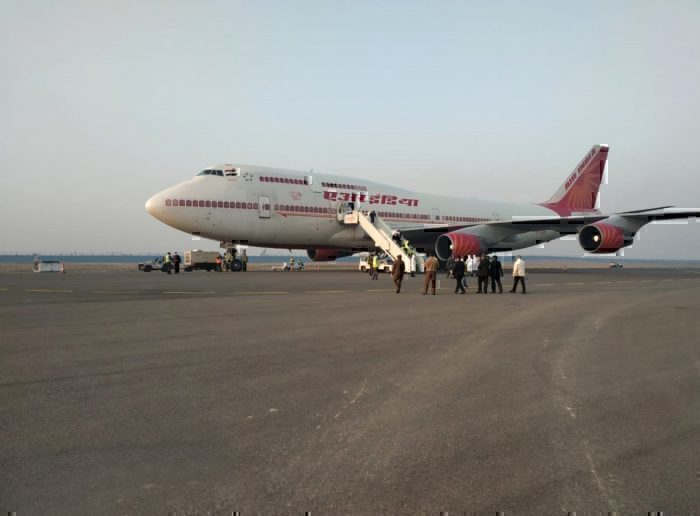 Air India Boeing 747-400 registration number VT-ESP