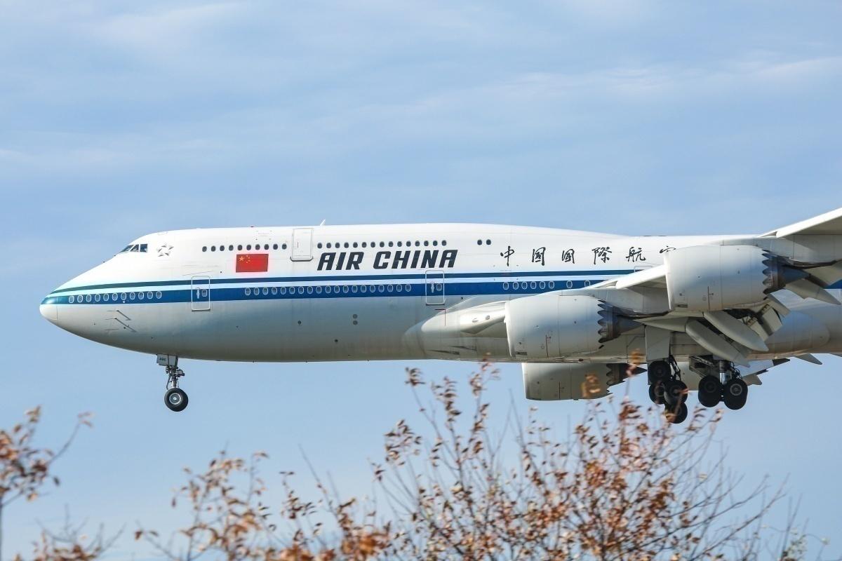 Air China, United States, Domestic Flights