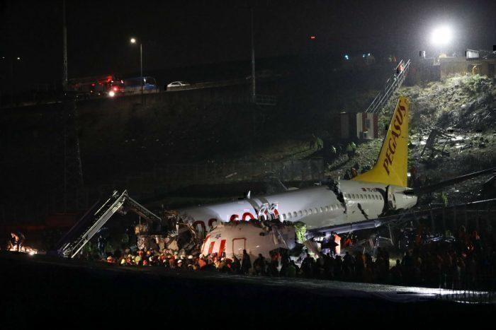 Pegasus, Boeing 737, Crash