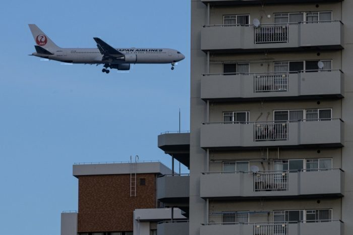 Haneda flight path