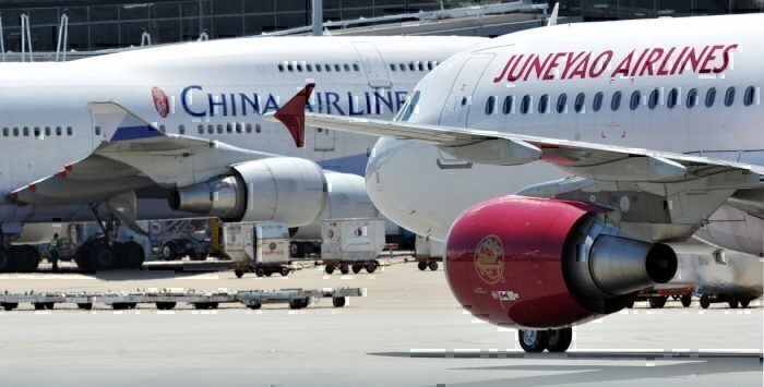 Juneyao and China Airlines