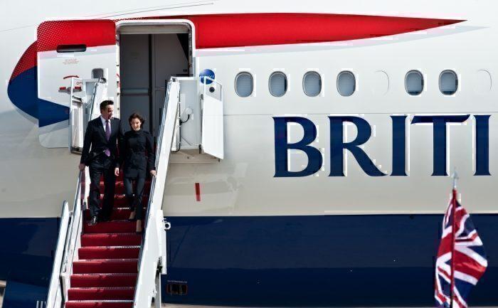 British Airways, David Cameron, Bodyguard