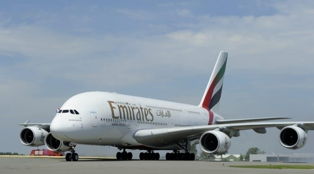 Emirates a380 getty images