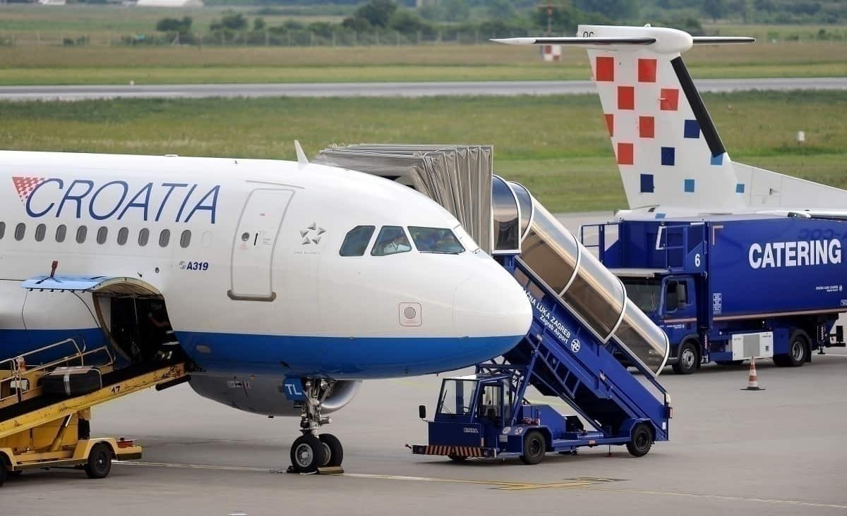 Croatia Airlines Zagreb Airport