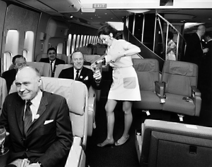 Getty Pan Am first class
