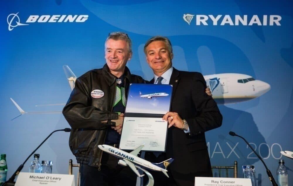 Ryanair, Boeing 737 MAX 10, New Order
