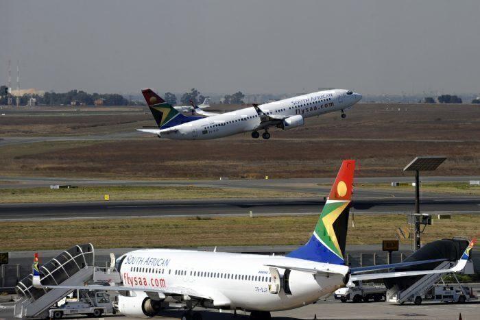 SAA aircraft takeoff