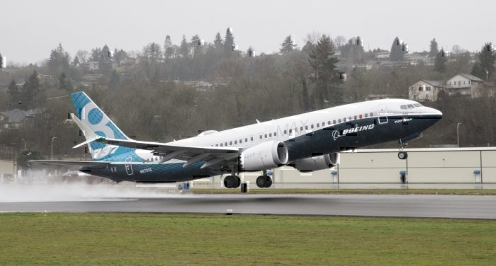 boeing 737 MAX branding getty images